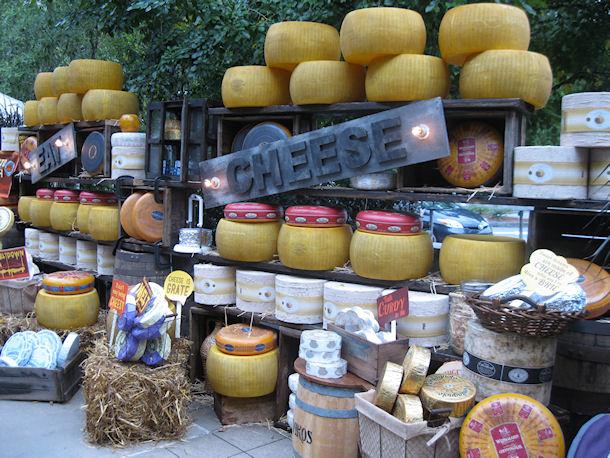 جشنواره بزرگ پنیر، آمریکا