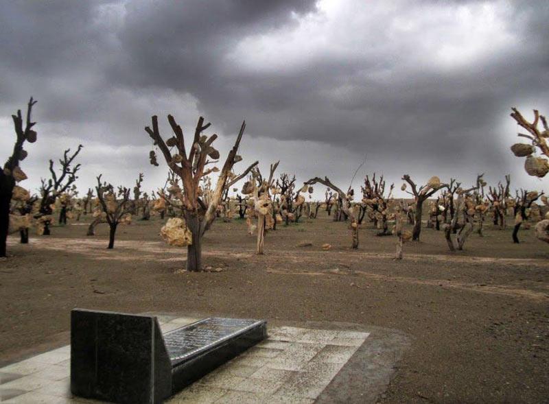باغ سنگی درویش خان کرمان