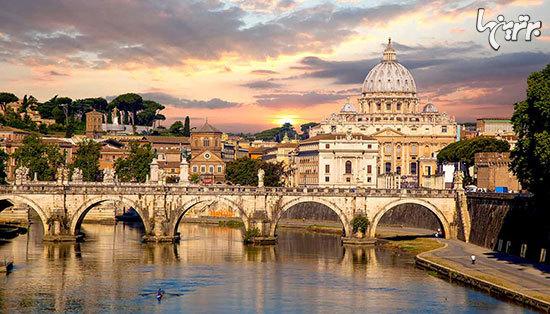 گشتی در رم، پایتخت گردشگری دنیا