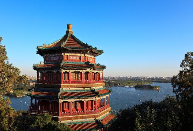 برترین جاذبه های گردشگری چین کاخ تابستانی