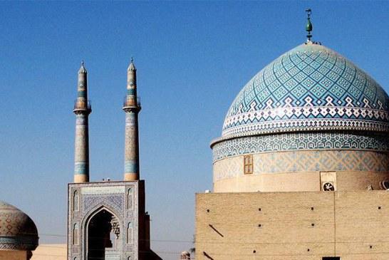 مسجد جامع کبیر یزد؛ بلندترین مناره های دنیا