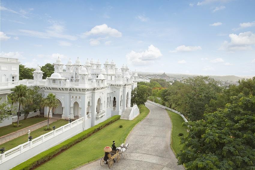 هتل Taj Falaknuma Palace