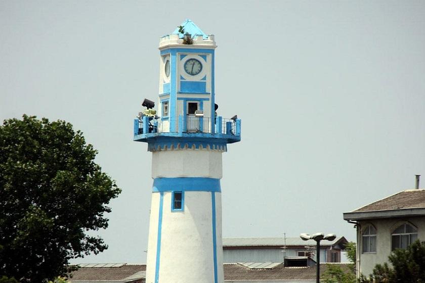 برج ساعت یا مناره انزلی