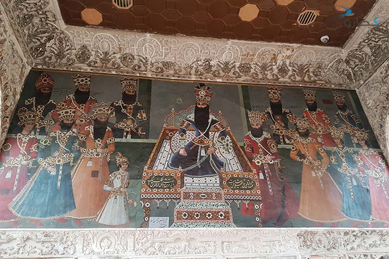 نقاشی کاخ سلیمانیه