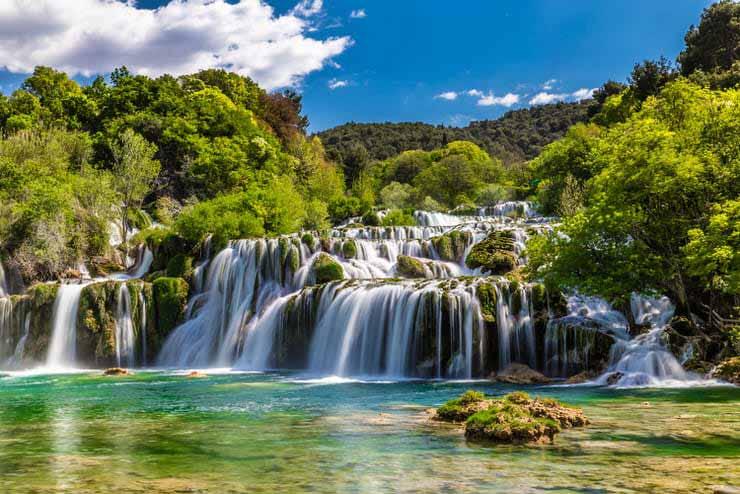 آبشار کرکا در کرواسی