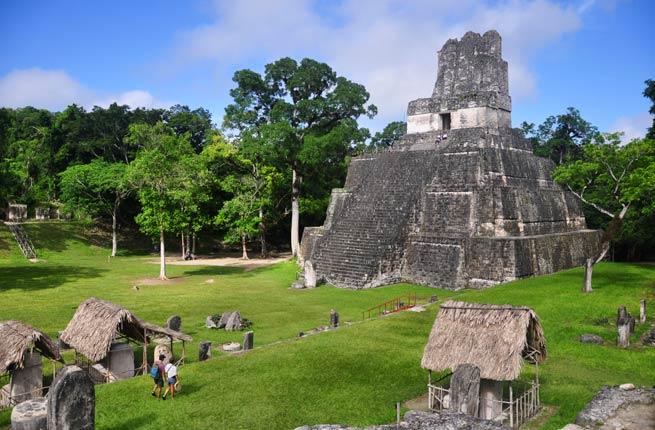 خرابه های شگفت انگیز و دیدنی در سراسر دنیا,تیکال-tikal-guatemala