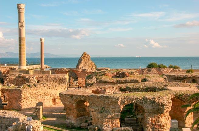 خرابه های شگفت انگیز و دیدنی در سراسر دنیا,کارتاژ-carthage-tunisia
