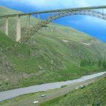 پل قطور در خوی؛ بزرگترین پل هوایی ریلی خاورمیانه