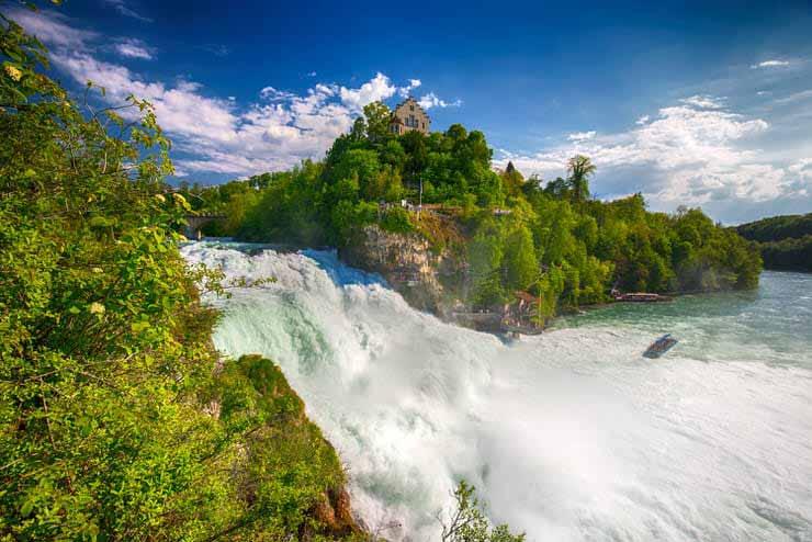 آبشار رینه فالز سوئیس