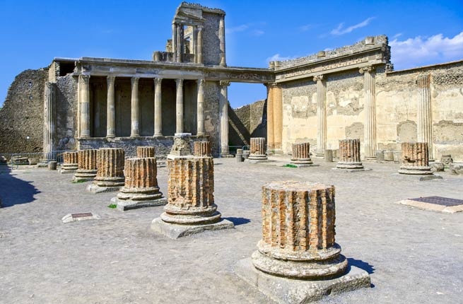 خرابه های شگفت انگیز و دیدنی در سراسر دنیا,پمپی-pompeii-italy