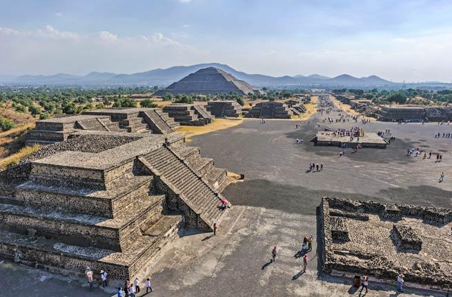 خرابه های شگفت انگیز و دیدنی در سراسر دنیا,تئوتیهواکان-teotihuacan-mexico