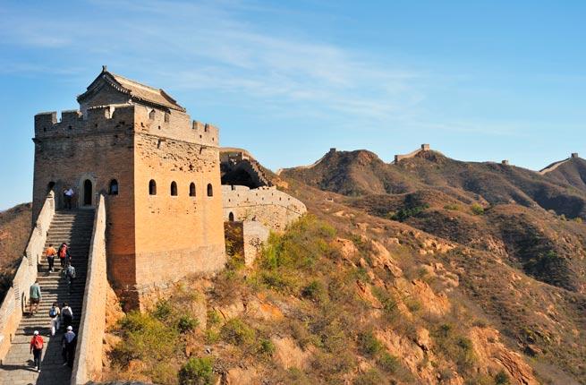 خرابه های شگفت انگیز و دیدنی در سراسر دنیا,دیوار بزرگ چین-great-wall-of-china