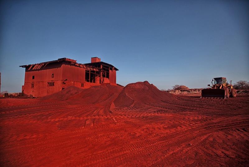 معدن خاک سرخ