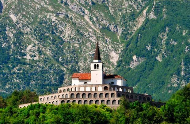 جاذبه های گردشگری کمتر دیده شده و آرام,Kobarid-Slovenia کبارید