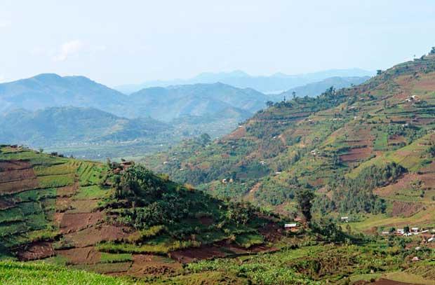 جاذبه های گردشگری کمتر دیده شده و آرام,Virunga-Volcanoes-Africa آتشفشان ویرونگا