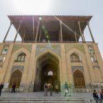 عمارت عالیقاپوی شهر اصفهان؛ دولتخانه مبارکه نقشجهان