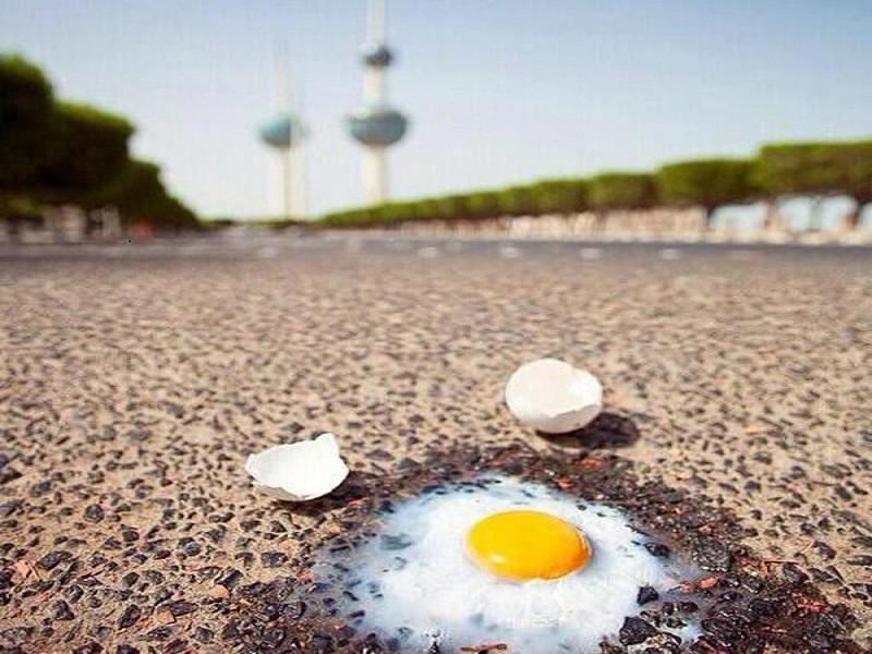 تابستان های گرم کویت