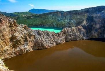 دریاچههای رنگارنگ در اندونزی