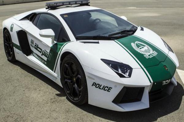 خودروهای لوکس پلیس
