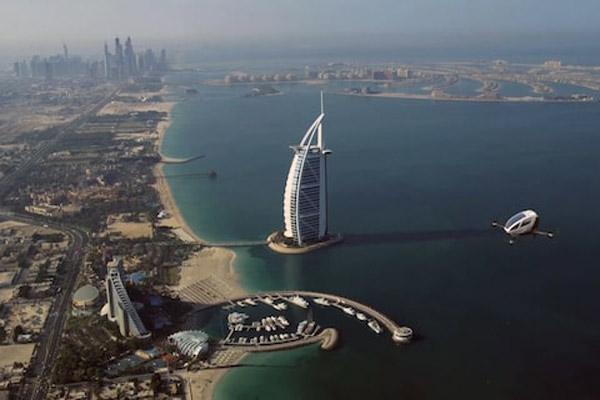 تاکسی هوایی در دبی