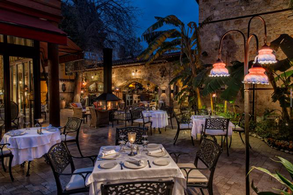 برترین رستوران های آنتالیا