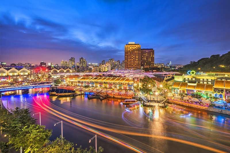 اسکله کلرک سنگاپور