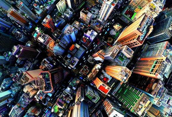 تصاویر هوایی گرفته شده از هنگ کنگ، شلوغترین شهر جهان