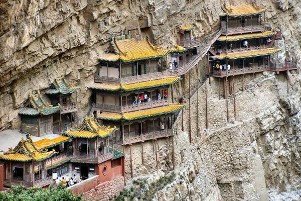شگفتانگیزترین معابد چین