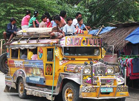 جیپنی وسایل نقلیه بومی