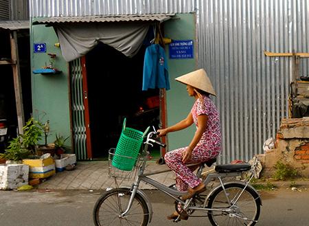 دوچرخه سواری وسایل نقلیه بومی