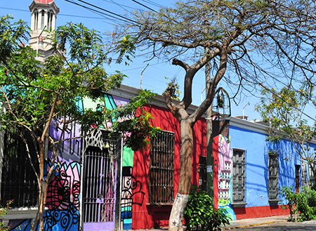 Barranco در لیما، پرو