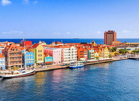 Willemstad در کوراکائو، کارائیب