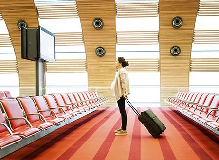 مسافرت در بارداری با قطار