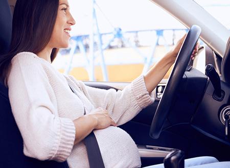 مسافرت در بارداری با ماشین شخصی