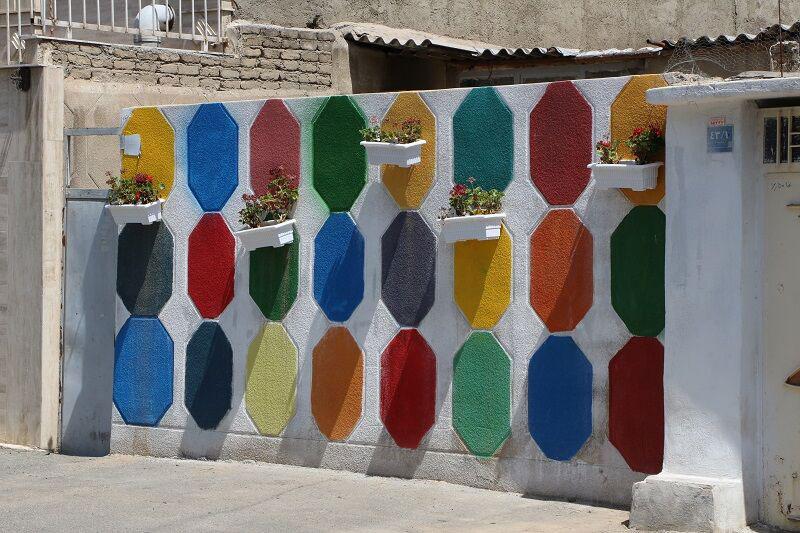 طرح کوچه رنگی تهران