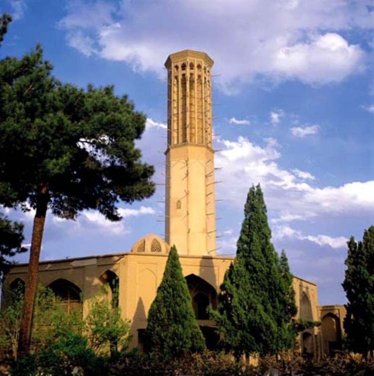 بادگیر هشت باغ دولت آباد