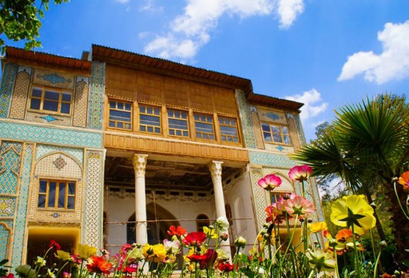 باغ دلگشا شیراز ، باغی به جا مانده از دوره ساسانی