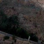 تصاویر انفجار آرام در دروازه قرآن شیراز ؛ سنگ خطرناک خرد شد