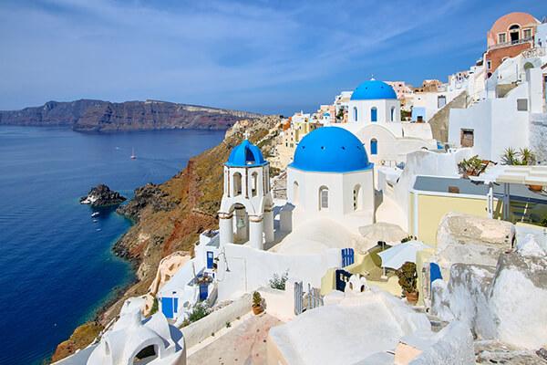 راهنمای سفر به یونان-سانتورینی