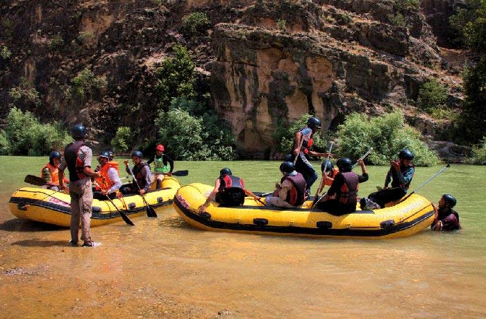 فتینگ رودخانه ارمند