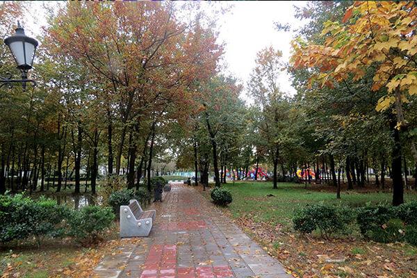 باغ محتشم یا پارک شهر رشت