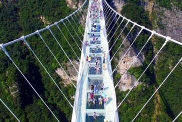 پل تمام معلق شیشهای اردبیل با حضور رئیس جمهور رونمایی میشود | ویژگیهای پل شیشهای رودخانه هیرچایی