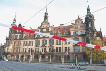 دزدی از موزه درسدن آلمان؛ یکی از بزرگترین گنجینههای اروپا
