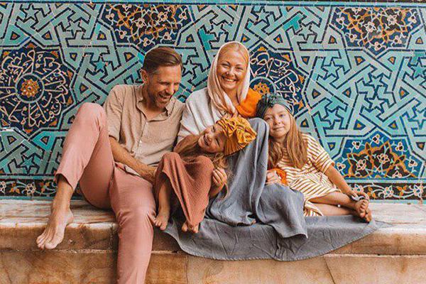 خانواده لهستانی در ایران