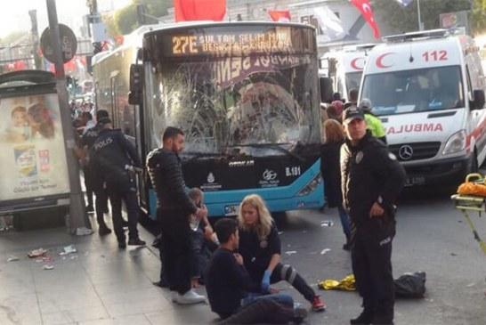 حادثه هولناک اتوبوس در شهر استانبول
