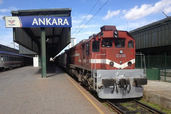 قطار تهران آنکارا