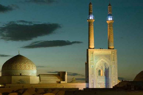 حقایق جالب درباره مسجد جامع یزد مسجدی با بلندترین مناره دنیا