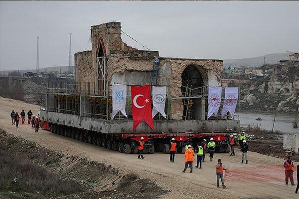 مسجد ۶۰۹ ساله حصن کیف در ترکیه