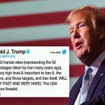 واکنش های شدید نسبت به تهدید ترامپ به هدف قرار دادن ۵۲نقطه فرهنگی در ایران