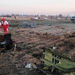 سقوط هواپیمای اوکراینی در جنوب تهران + عکس و فیلم